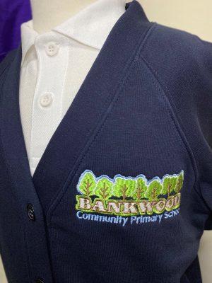 Bankwood Primary Sweat Cardigan